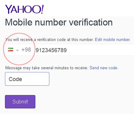 ترفند دور زدن تحریمات  یاهو برای ایمیل سازی کاربران ایرانی Yahoo_iran_signup2