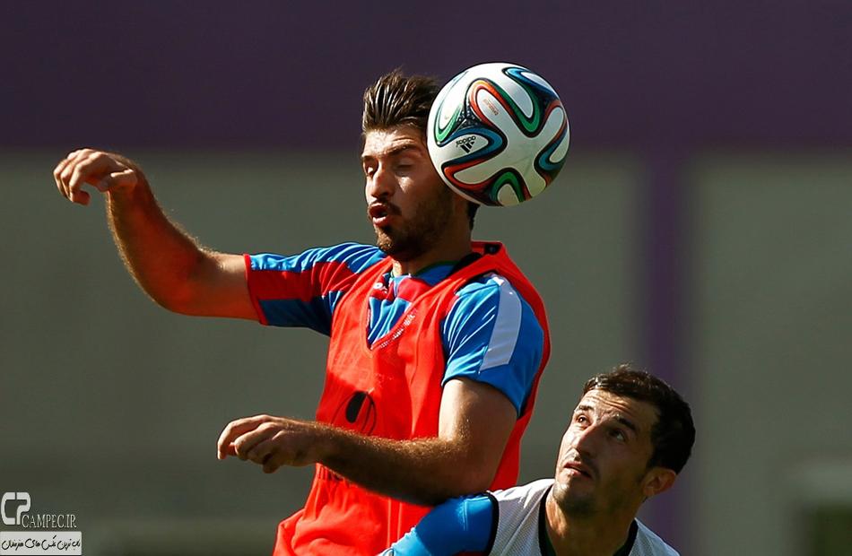 عکس های تمرین تیم ملی فوتبال ایران بعد از دیدار مقابل نیجریه