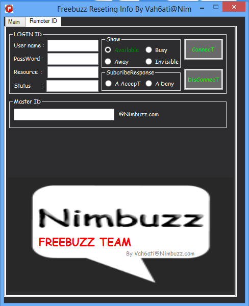 FreeBuZz Reseting Your Info Resting2