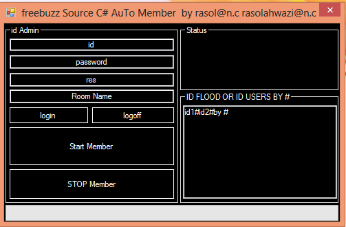 Freebuzz TeaM Source C# AuTo Member by rasol@n.c  Lllllllllll
