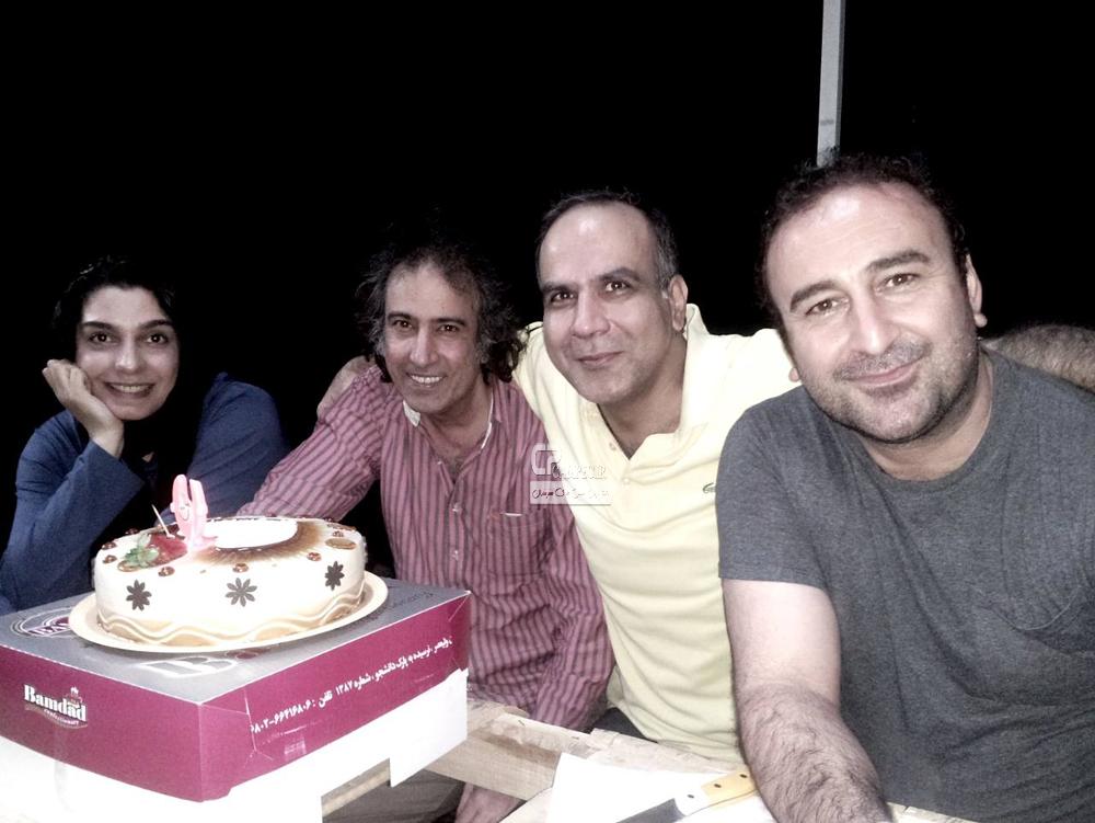 الیکا عبدالرزاقی و مهران احمدی