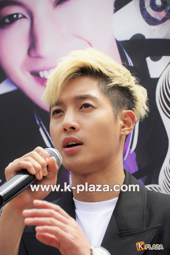 "[Media Photos] KIM HYUN JOONG ""HotSun"" Release + Handshake Event @Odaiba, Japan [2014.06.17]"