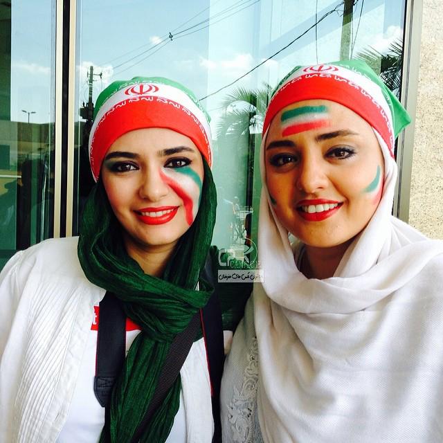 نرگس محمدی و لیندا کیانی