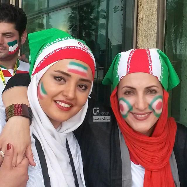 فاطمه گودرزی و نرگس محمدی