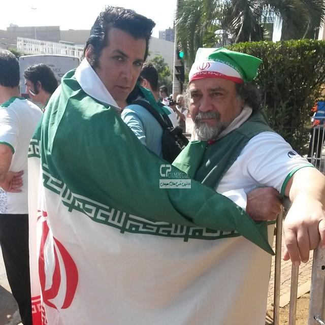 محمد رضا شریفی نیا و حسام نواب صفوی