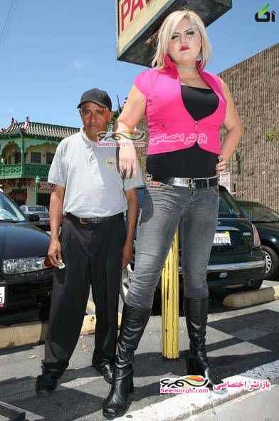 قد بلند ترین دختر دنیا