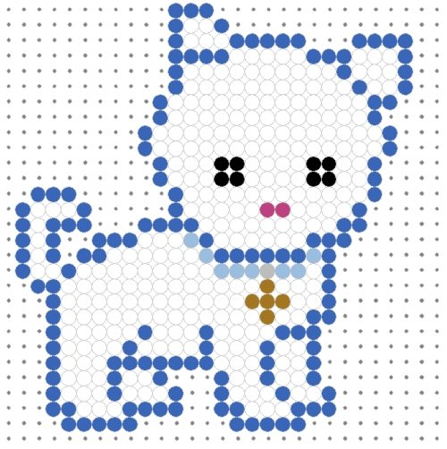 [تصویر:  cute_white_puppy_perler_bead_pattern2_1_.jpg]