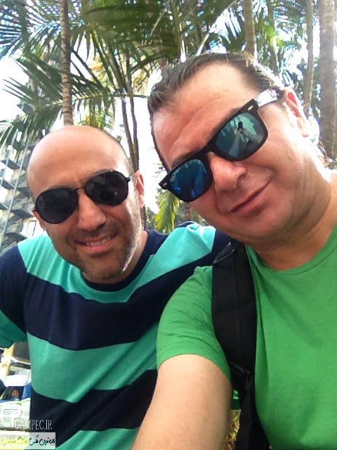 جدید ترین عکس های محسن تنابنده در برزیل