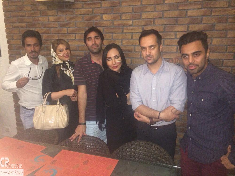 پرستو صالحی،مهدی ماهانی،احمد مهران فر،هادی کاظمی و حسین سلیمانی