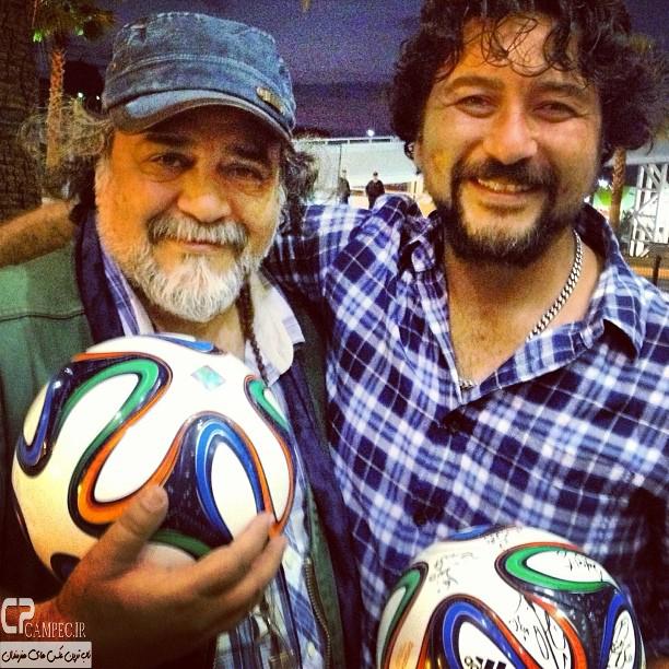 امیر حسین صدیق و محمد رضا شریفی نیا در برزیل