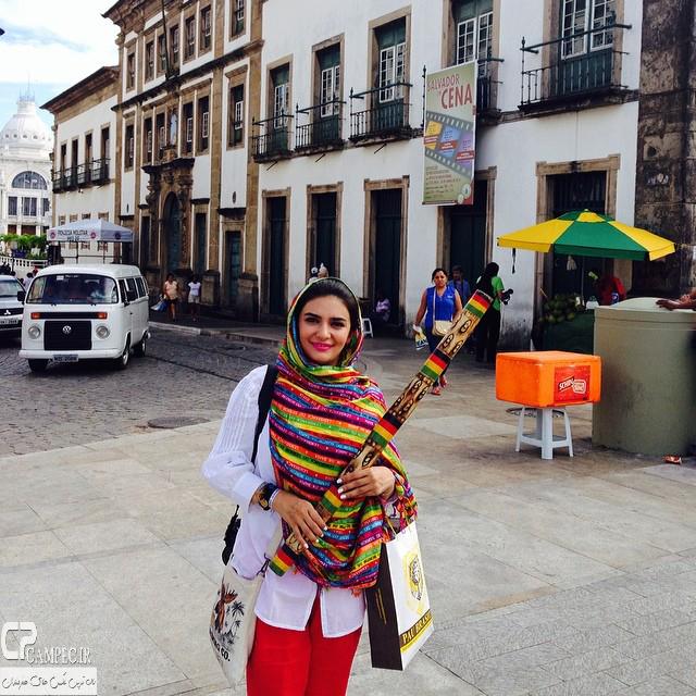 لیندا کیانی در برزیل