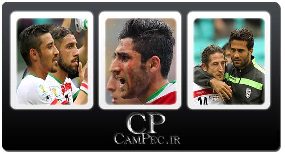عکس های دیدار تیمهای فوتبال ایران و بوسنی - جام جهانی 2014 برزیل