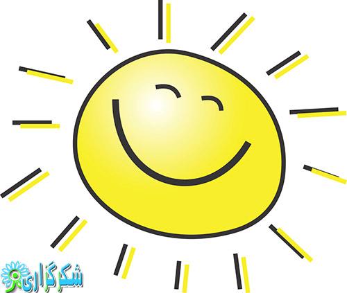 تابستان-چاقی-عکس آفتاب-خورشید-کلیپ آرت-زیبا-قشنگ-جذاب