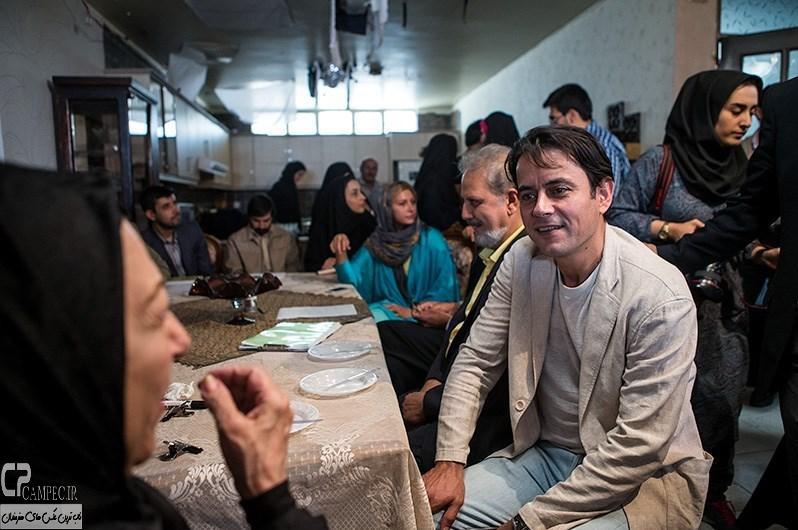 رحیم نوروزی در پشت صحنه سریال فاخته