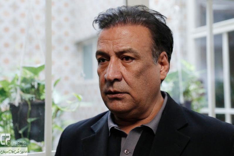 عبدالرضا اکبری در پشت صحنه سریال فاخته