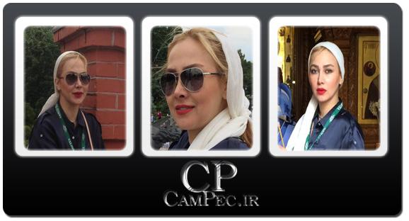 جدید ترین عکس های آناهیتا نعمتی در مسکو ـ روسیه