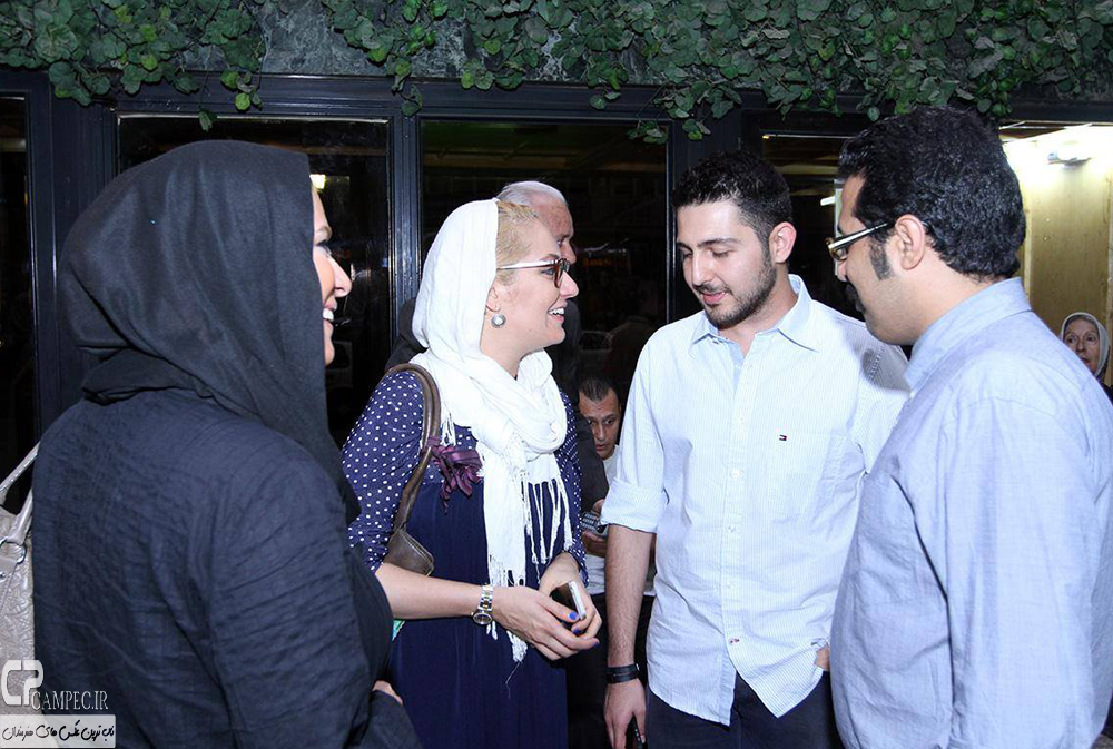 محمد رضا غفاری و مهناز افشار