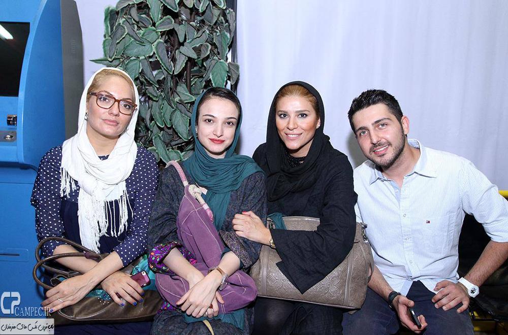 محمد رضا غفاری،سحر دولتشاهی و مهناز افشار