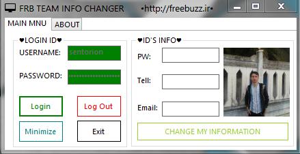 FRB TEAM info changer Info_changer
