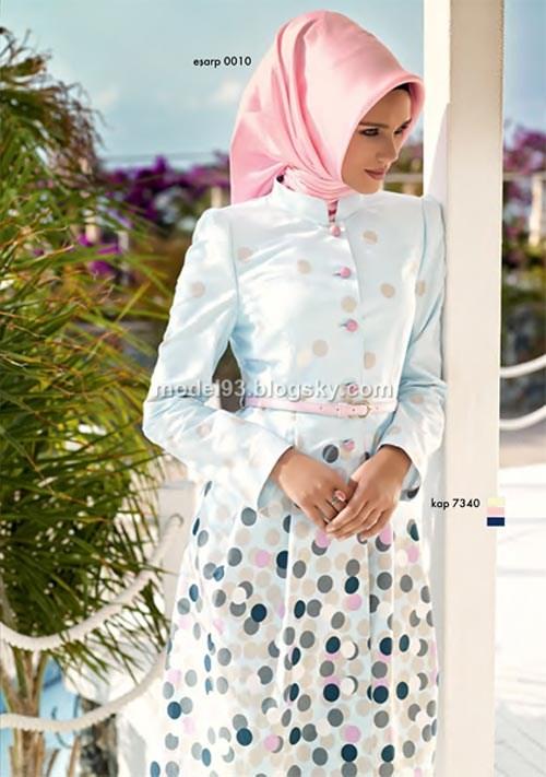 مدل مانتو اسلامی بلند
