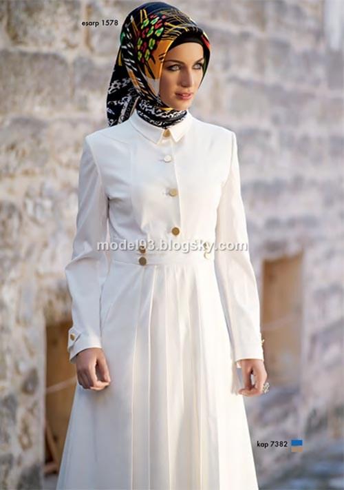 مدل مانتو اسلامی بلند 93