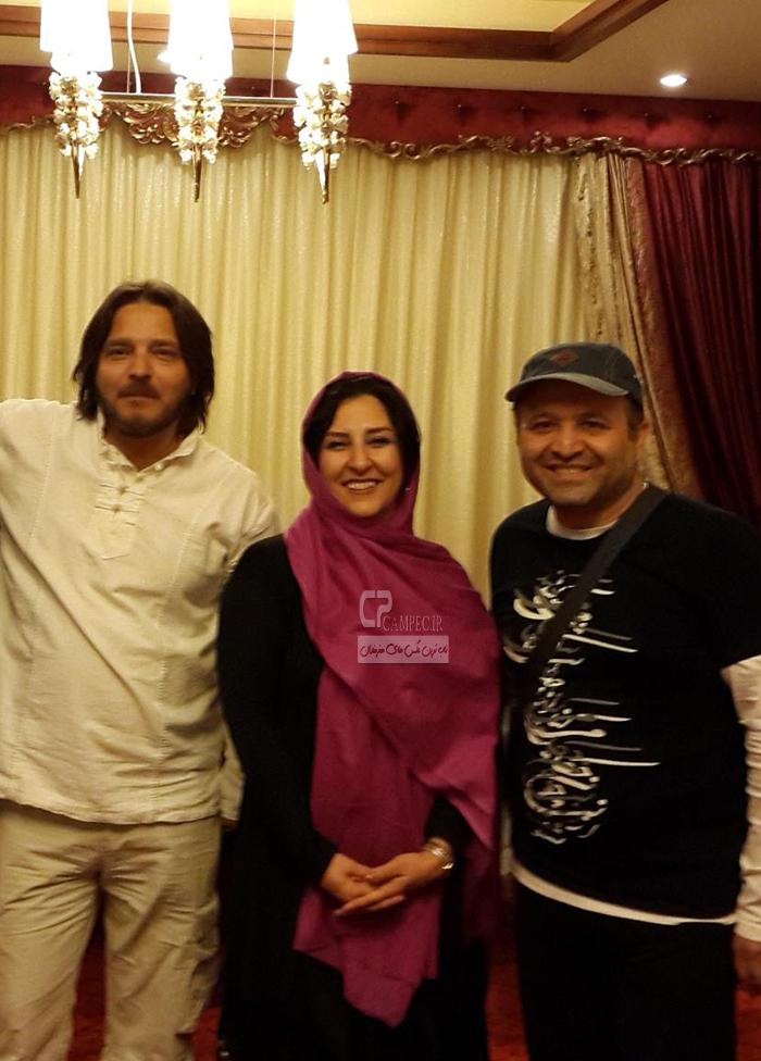 مرجانه گلچین و علی صالحی