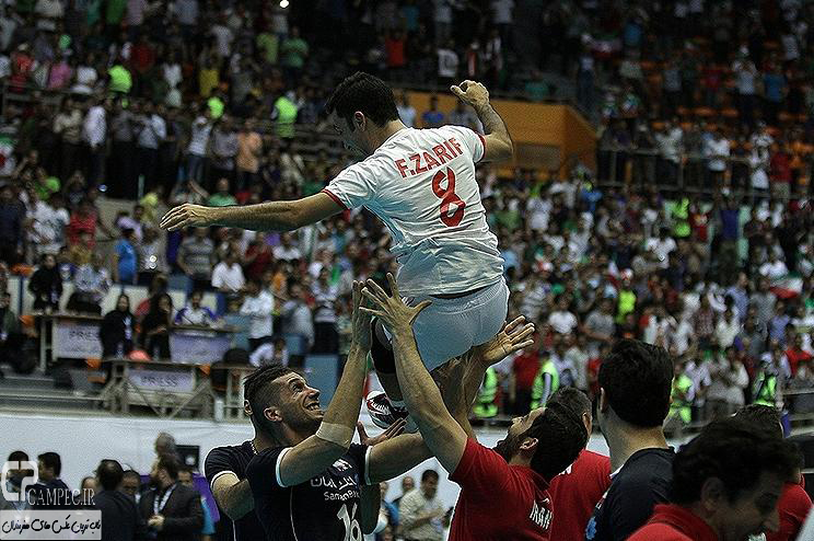 عکس های دومین دیدار تیم های والیبال ایران و لهستان