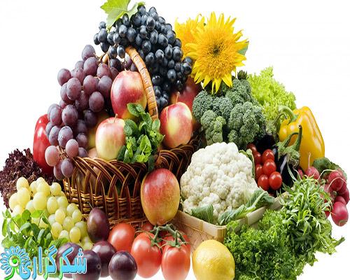 میوه-سبزی-لاغری-چاقی-درمان-کاهش-وزن-عکس