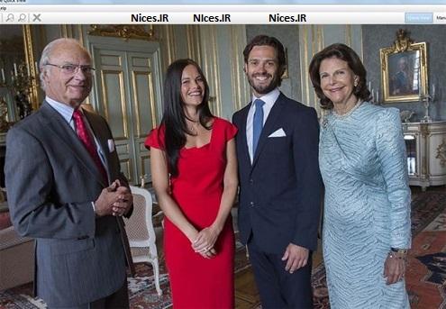 ازدواج ولیعهد سوئد و مانکن سوئدی