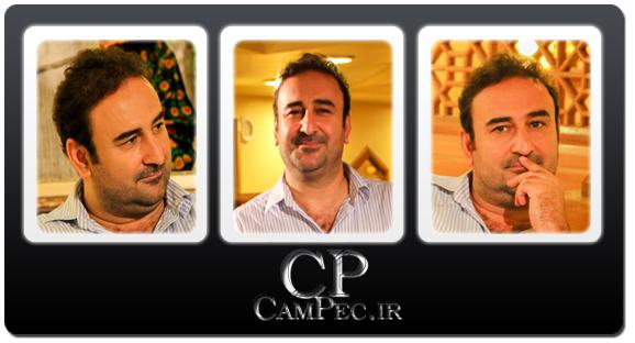 عکس های مهران احمدی در پشت صحنه برنامه صبح خلیج فارس