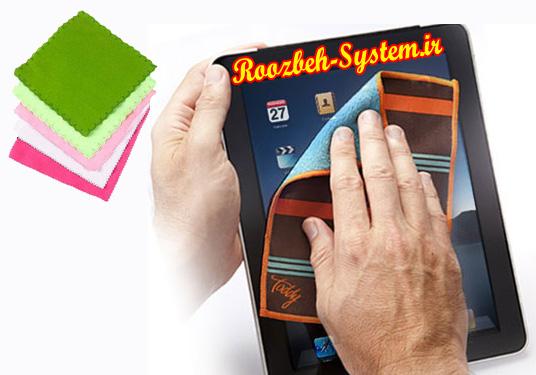 چگونه صفحه نمایش لمسی گوشی خود را تمیز کنیم + آموزش