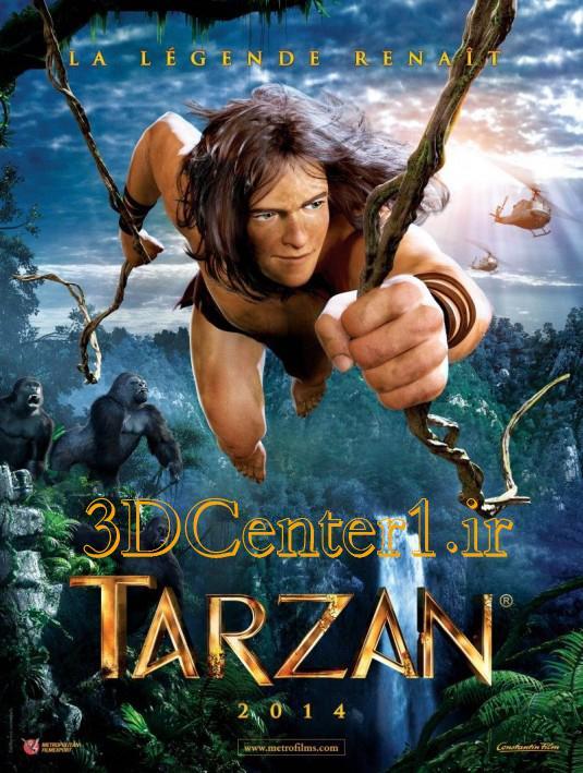 دانلود انیمیشن Tarzan 2013