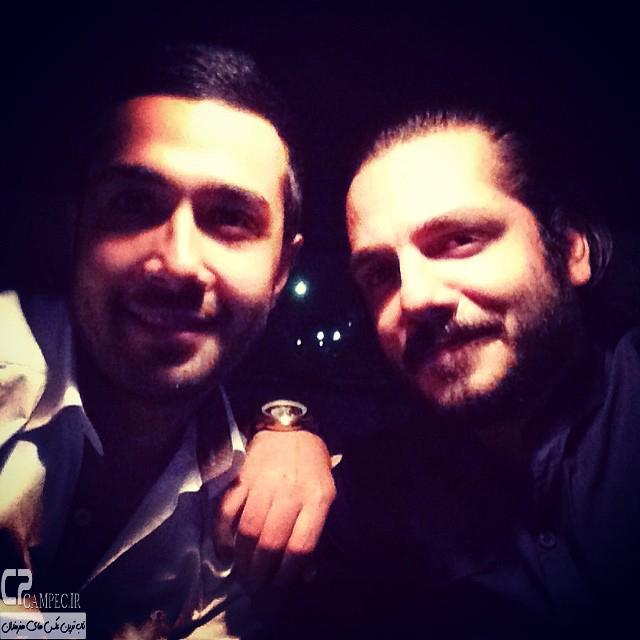 حسین مهری و عباس غزالی