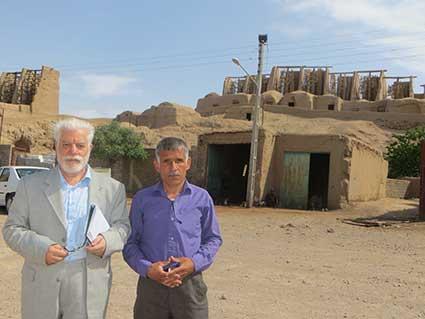 سفرنامه یک روز در خاف، دکتر حسین محمدزاده صدیق