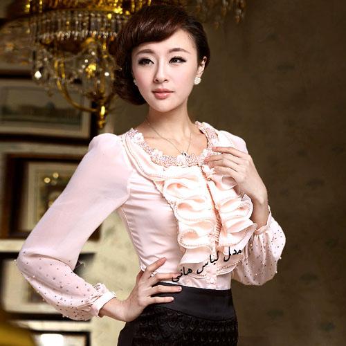 لباس یقه حلزونی