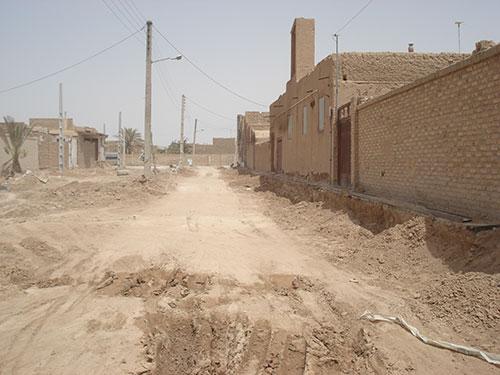 احداث خیابان در اردکان