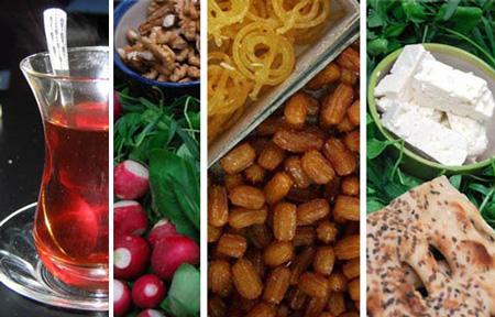 پوكى استخوان, رژیم لاغری در ماه رمضان,تغذیه در ماه رمضان