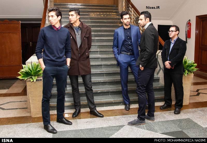 عکس تیم ملی والیبال ایران با کت شلوار