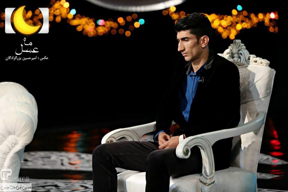علی بیرانوند در برنامه ماه عسل