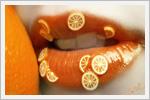 طراحی لب به شکل میوه ها