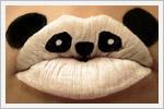 آرایش فانتزی لب به شکل حیوانات