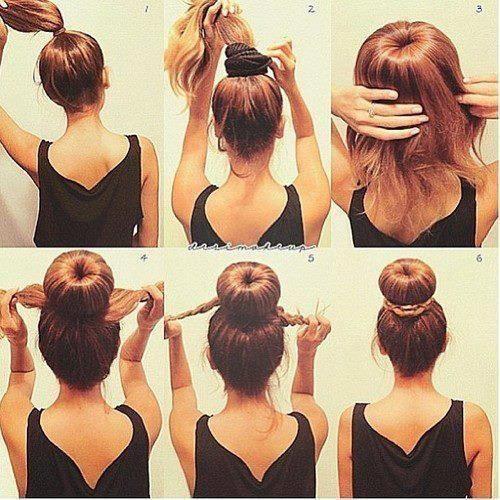 تل موی سر hot buns