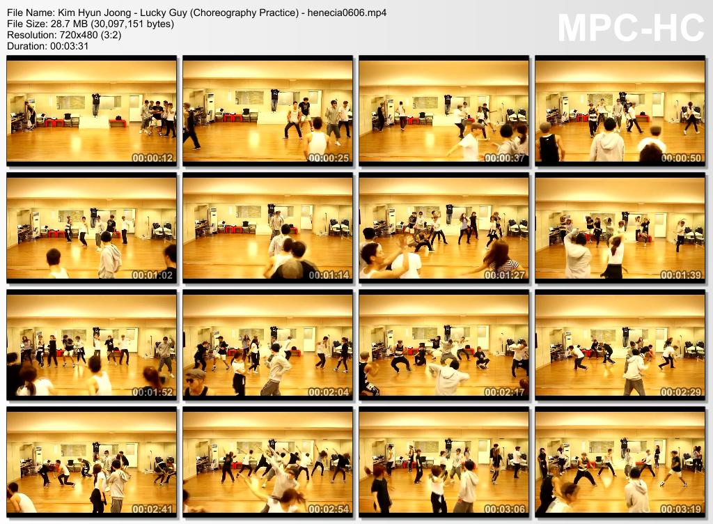 Kim Hyun Joong - Dance Practice Of Lucky Guy & Your Story & Unbreakable