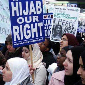 حجاب حق ماست!