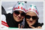 تصاویری از هواداران خانم تیم ملی فوتبال ایران و آرژانتین در برزیل