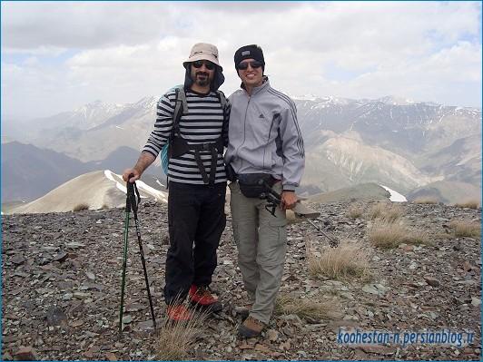 مسیر قله های پیرزن کلوم و مهرچال