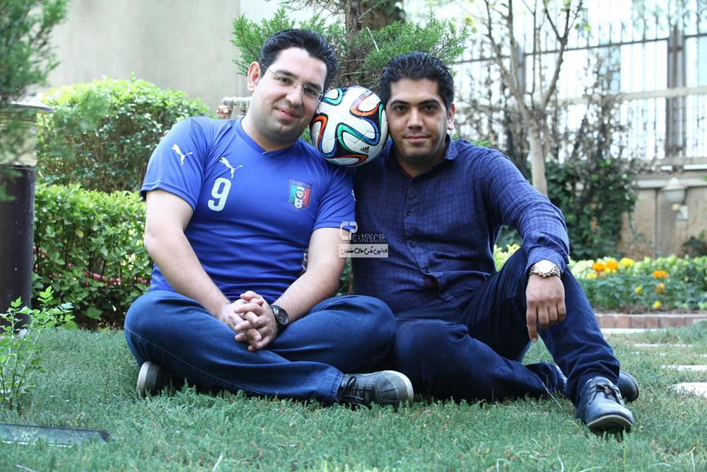 محمد رضا احمدی گزارشگر فوتبال