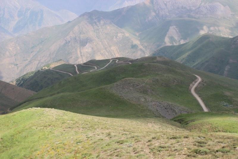 گزارش دوچرخه سواری قزوین – الموت (جاده اکبر آباد) –  سه هزار -  تنکابن