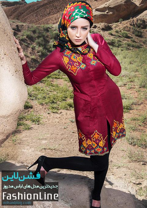مدل های مانتو ویژه تابستان 93 اریکا مانتو اریکا مانتو تابستانی طرح ایرانی مانتو