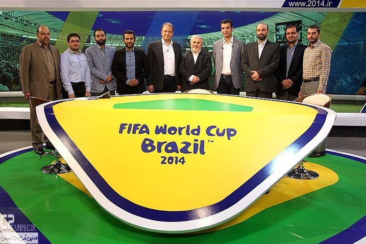 عکس های پشت صحنه ویژه برنامه جام جهانی 2014